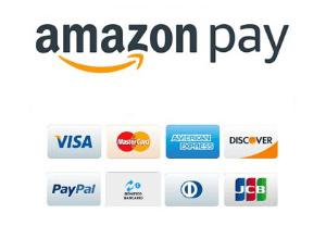 Loghi pagamenti e amazon pay