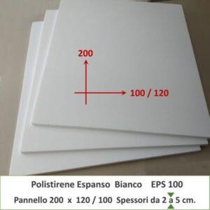 Pannelli in polistirolo bianco di grandi dimensioni